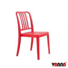 Vanna Rock Side Chair - Red